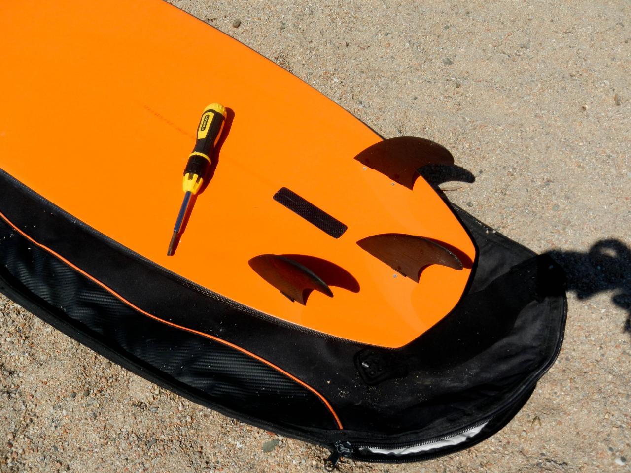 AlpineBoard en mode SurfKite