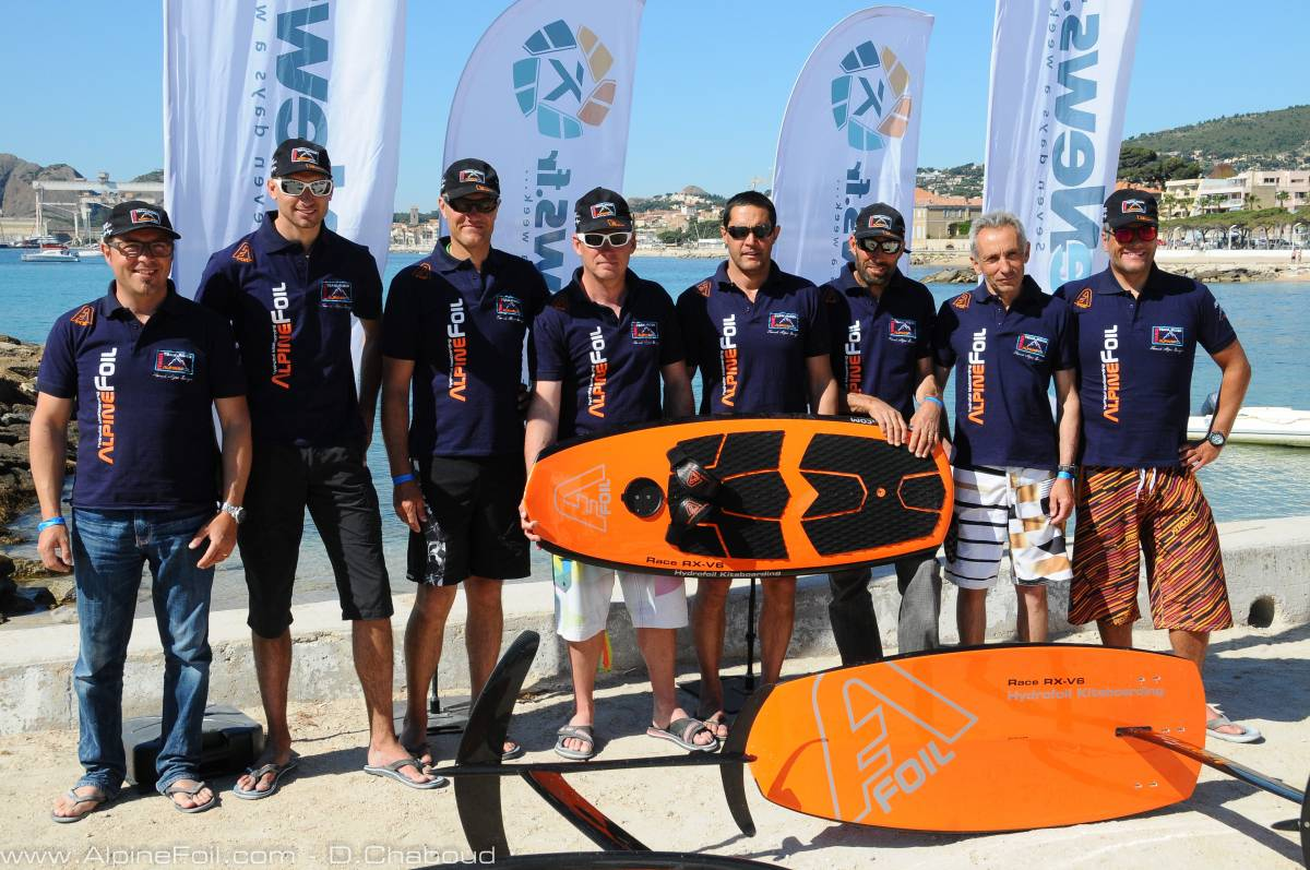 Kitefoil Race IKT International Kitefoil Tour  La Ciotat