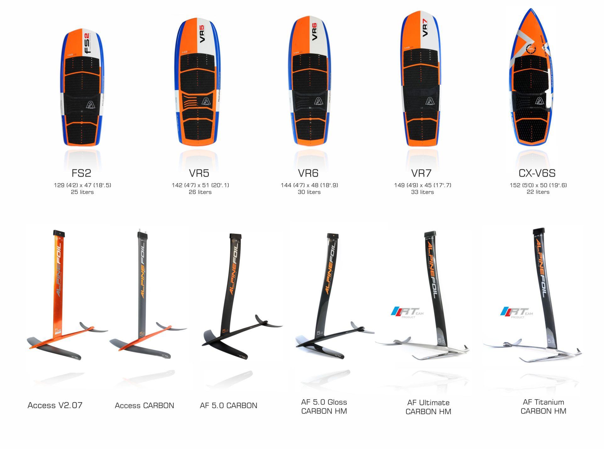 Alpinefoil board kitefoil 2017 1