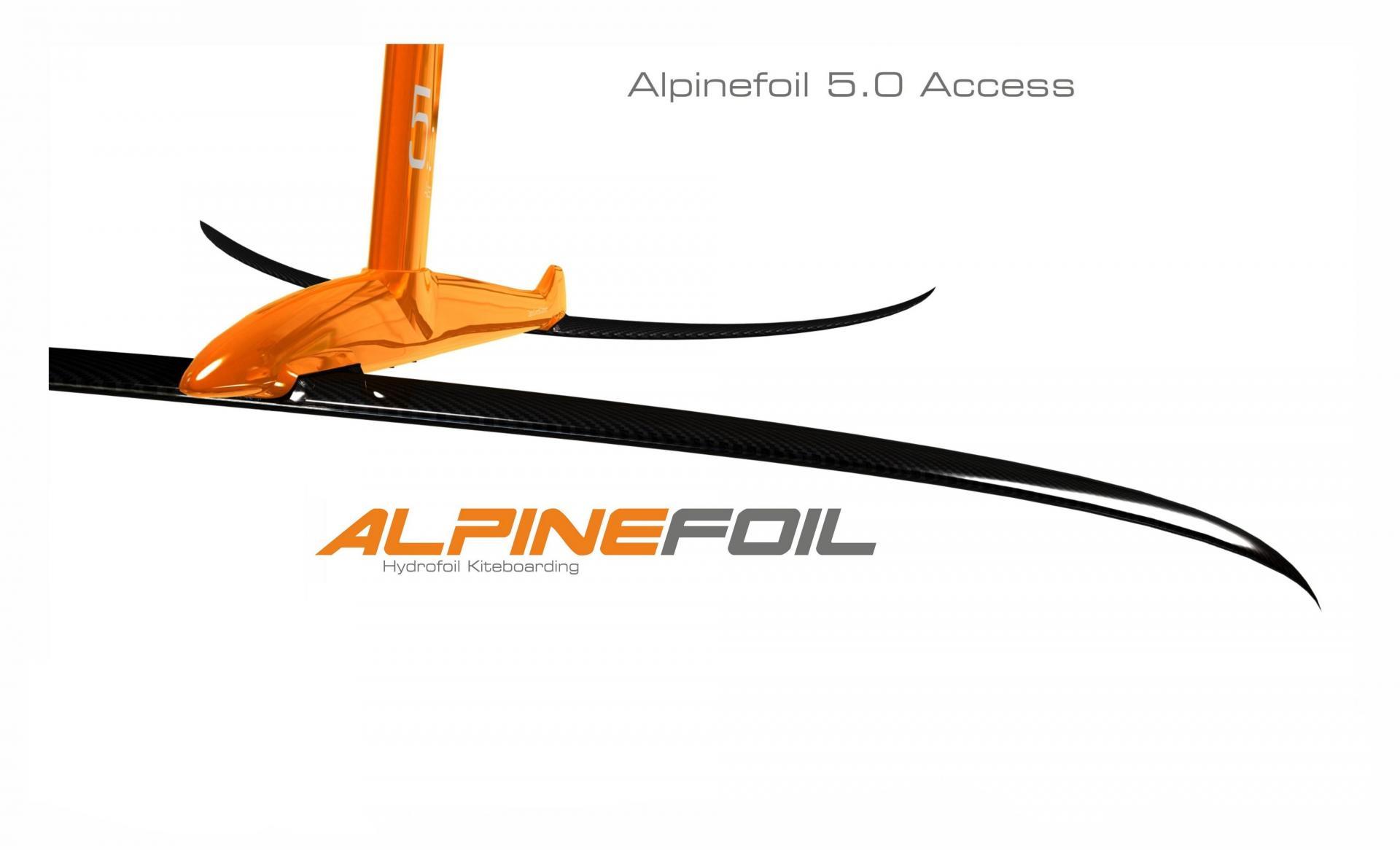 New Kitefoil Alpinefoil 5.0 Access