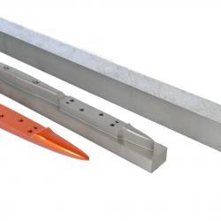 Fuselage usiné CNC dans un bloc d'aluminium  6061 T6