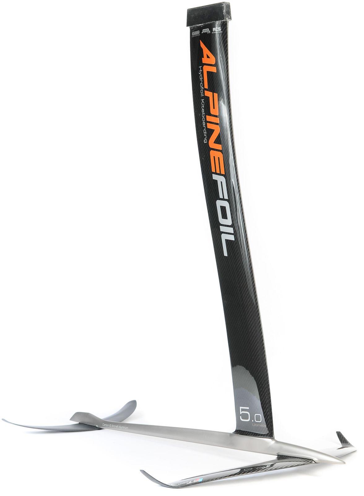 Kitefoil alpinefoil carbon aluminium gis ultimate 2 resultat
