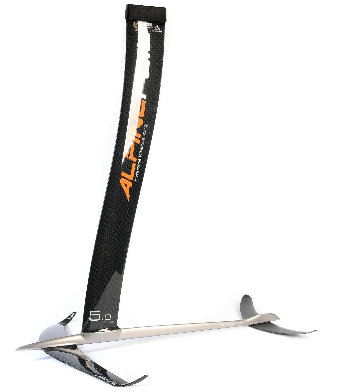 Kitefoil alpinefoil carbon aluminium gis ultimate 9 resultat