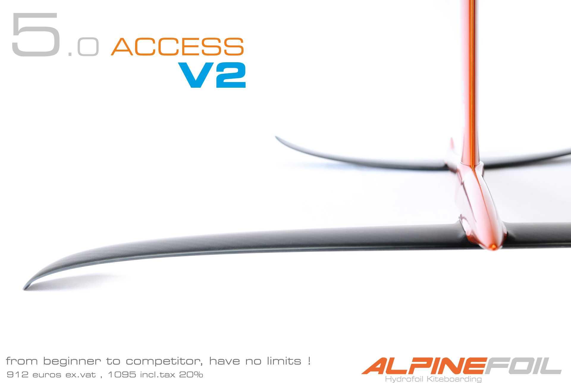 Kitefoil carbon aluminium access 5 0 v2 1 1