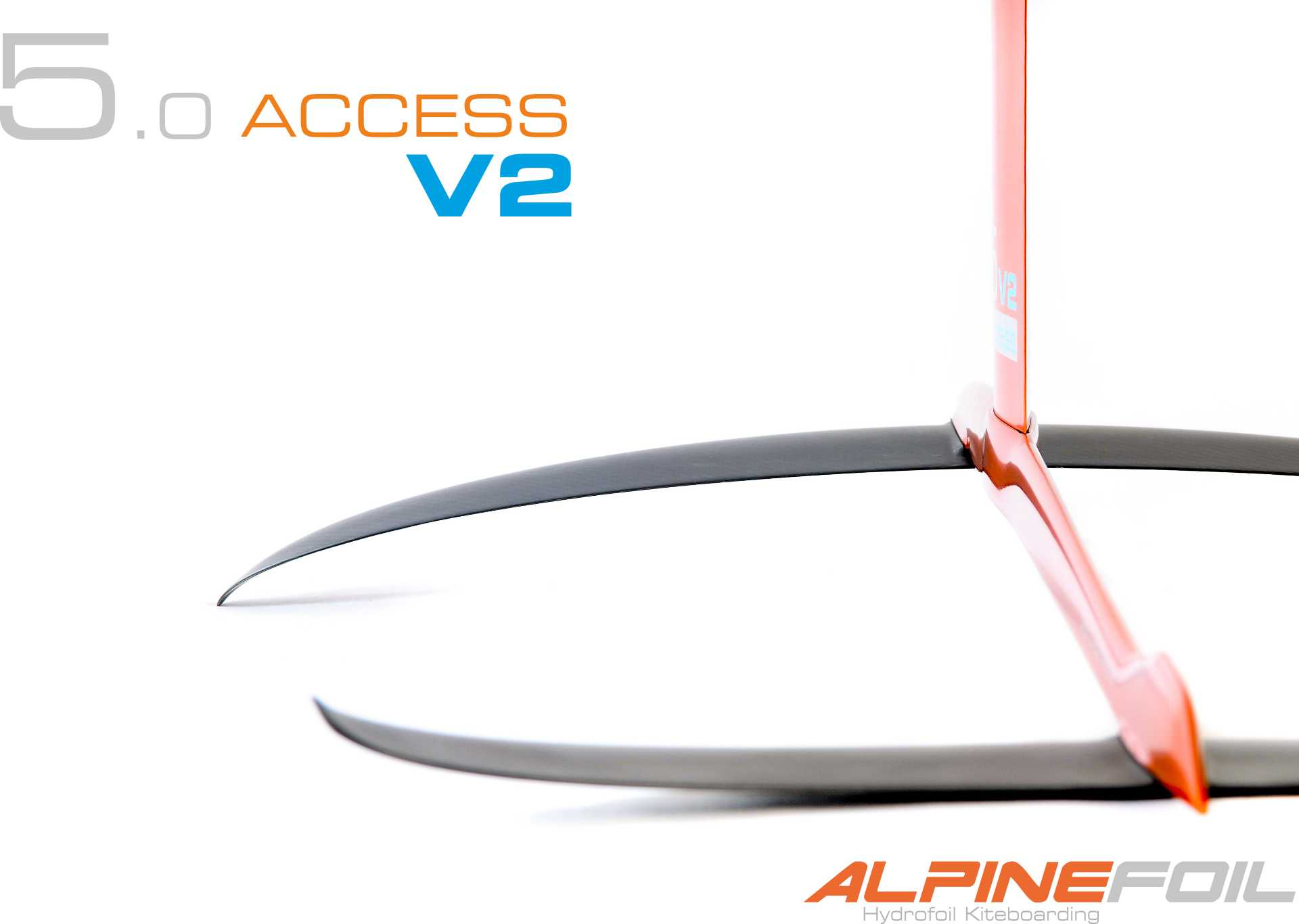 Kitefoil carbon aluminium access 5 0 v2 2