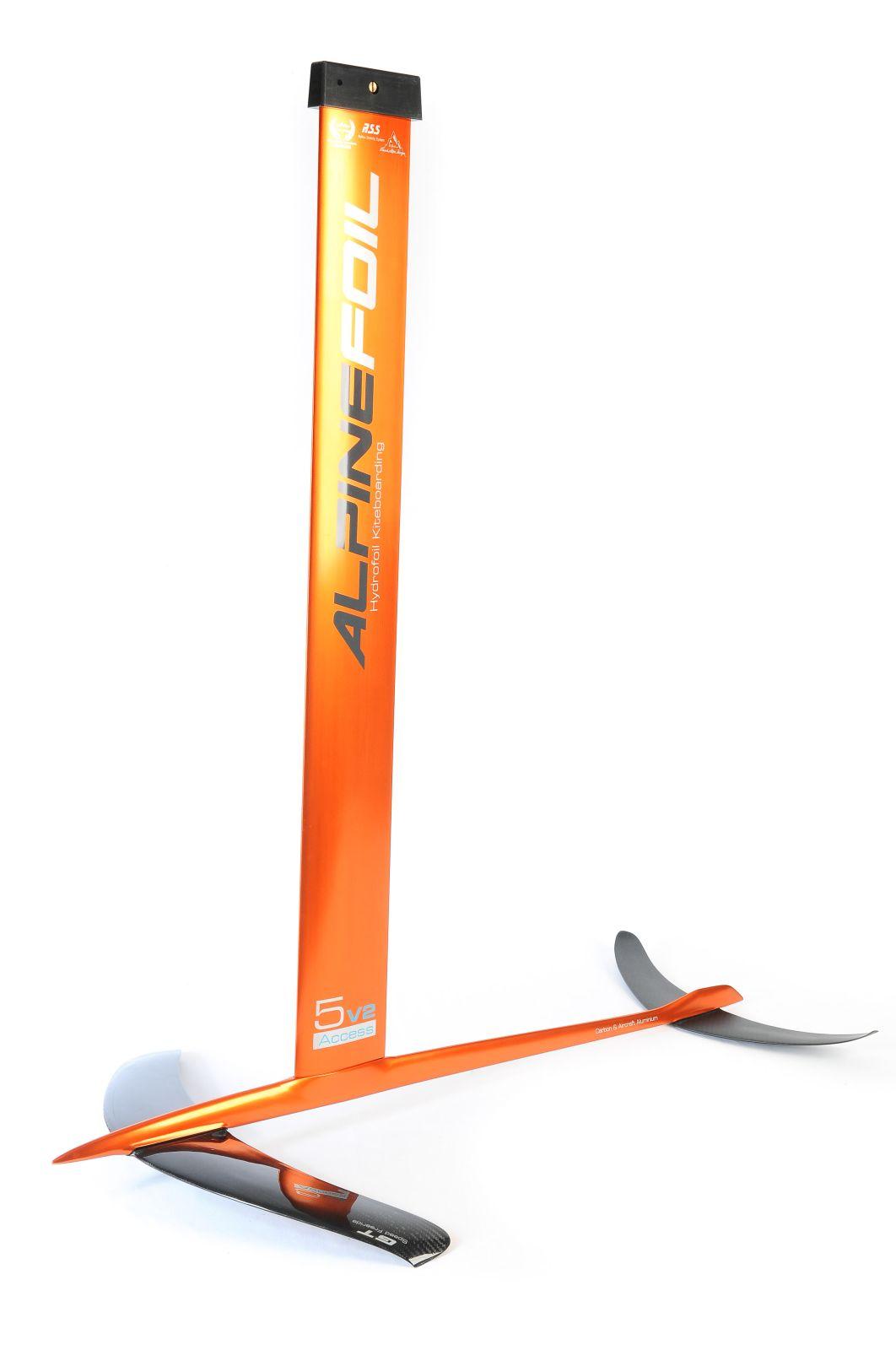 Kitefoil carbon aluminium alpinefoil 5 0 access v2 2486 1