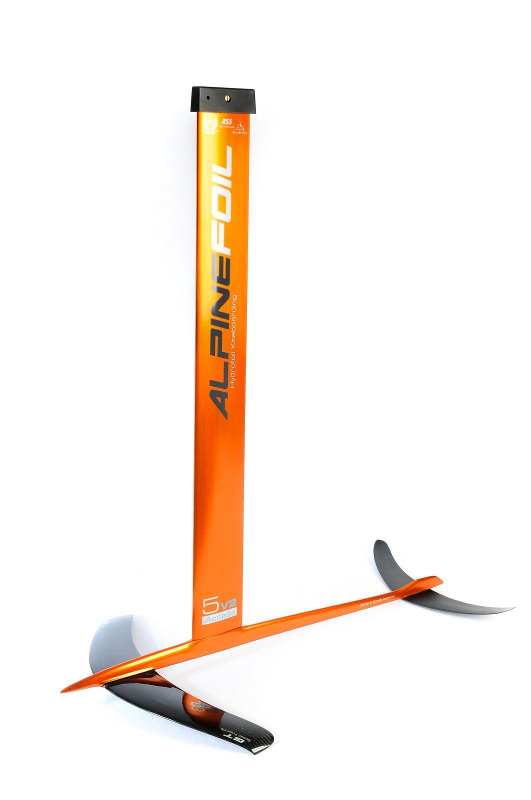 Kitefoil carbon aluminium alpinefoil 5 0 access v2 2490 1