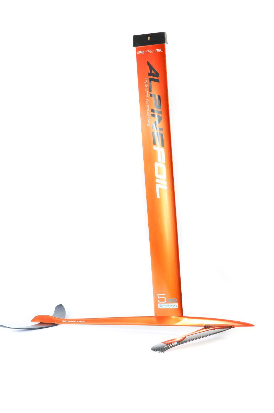 Kitefoil carbon aluminium alpinefoil 5 0 access v2 2515 1