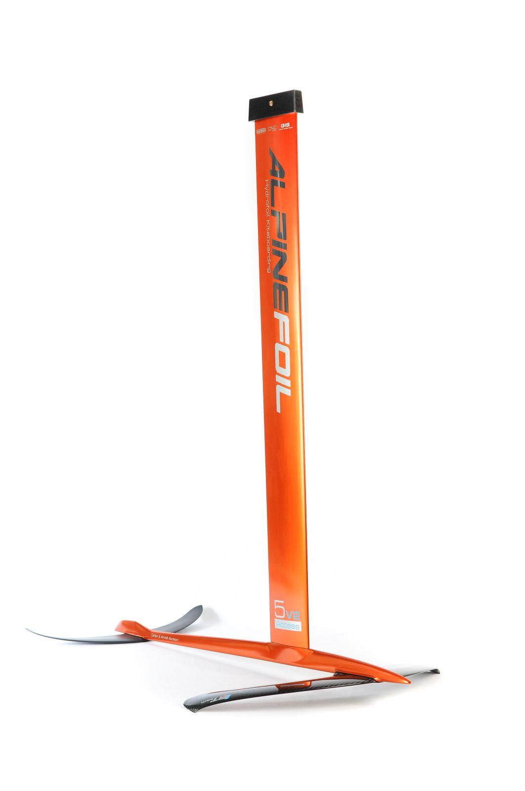 Kitefoil carbon aluminium alpinefoil 5 0 access v2 2525 1