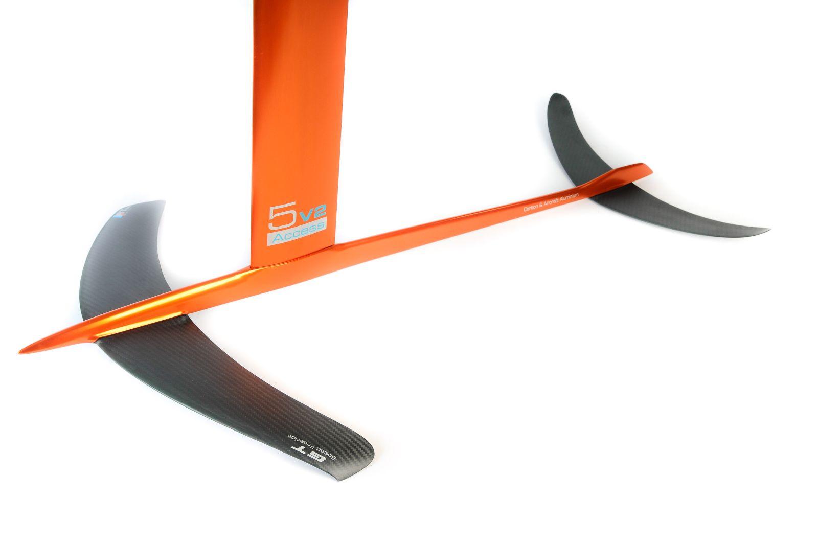 Kitefoil carbon aluminium alpinefoil 5 0 access v2 2602 1