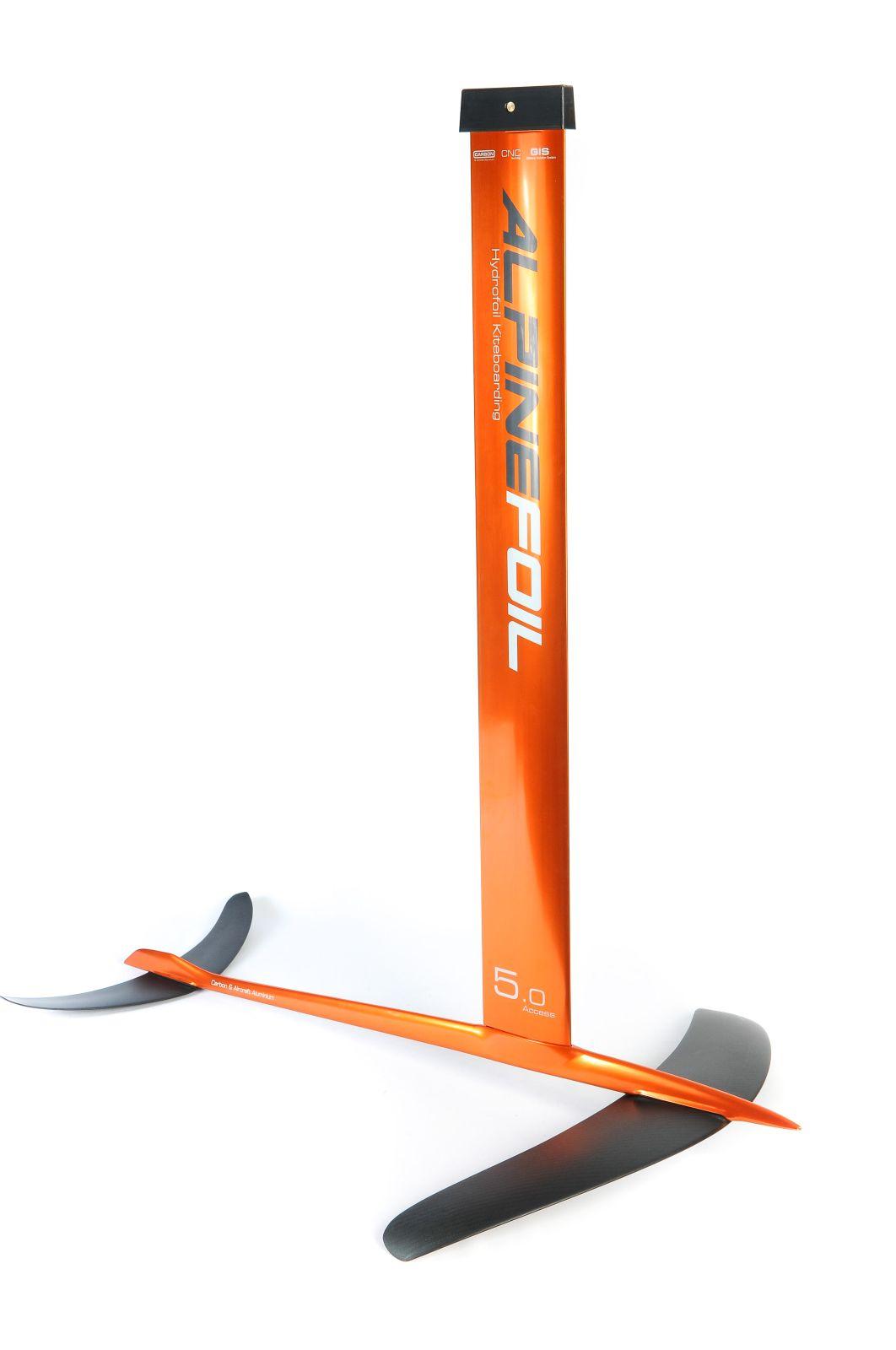 Kitefoil carbon aluminium alpinefoil 5 0 access v2 3326 1