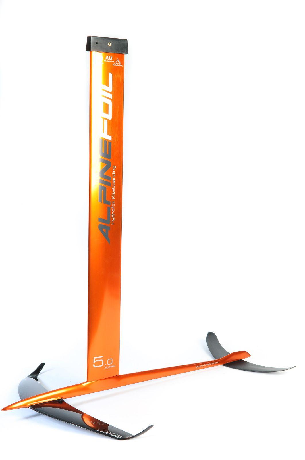 Kitefoil carbon aluminium alpinefoil 5 0 access v2 3398 1