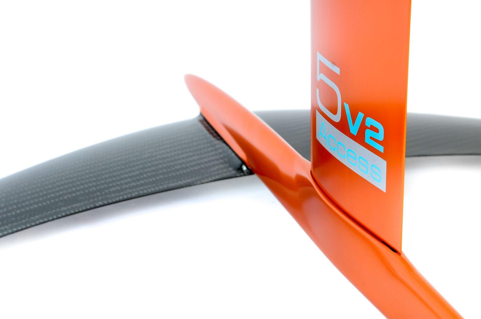 Kitefoil carbon aluminium alpinefoil 5 0 access v2 3527 1