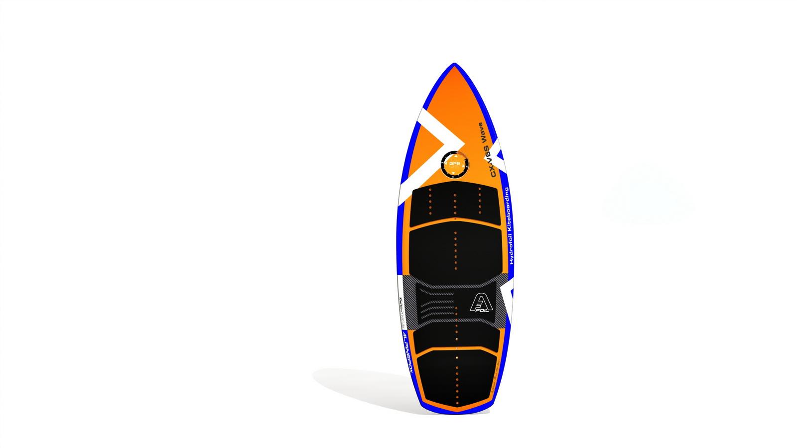Kitefoil foilboard alpinefoil cx v6s wave