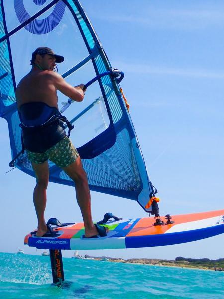 Kitefoil windfoil alpinefoil 8192285