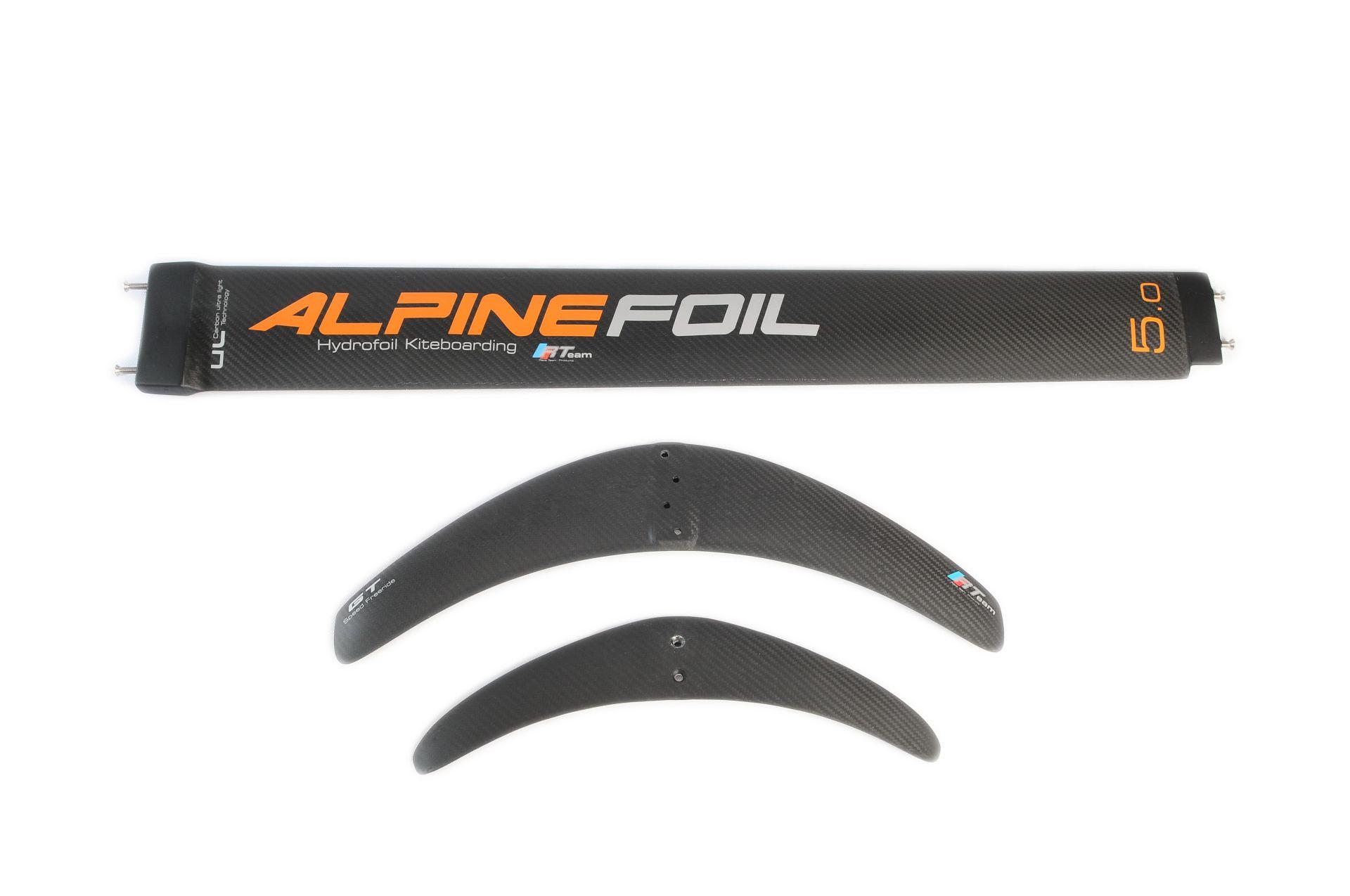 Kitefoil windfoil alpinefoil carbon mast gt stab 1