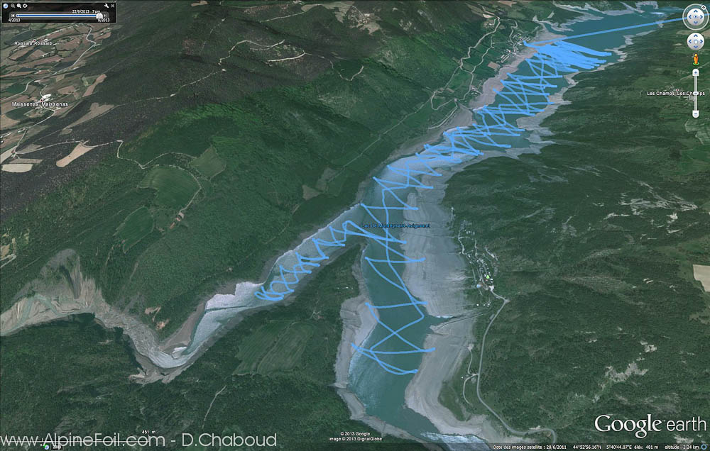 Hydrofoil-Kite-foil-Alpinefoil-Monteynard Hebron