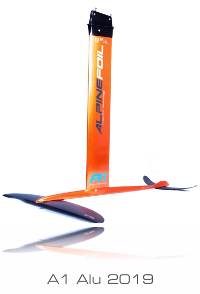 A1 alu windfoil alpinefoil