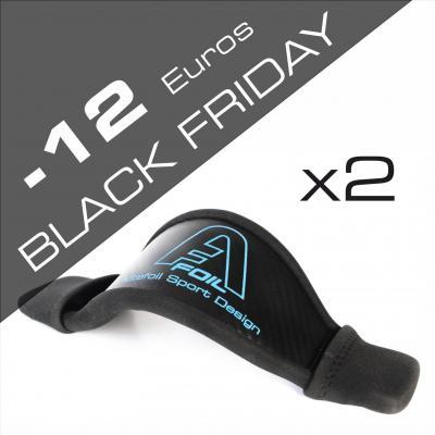 Black friday kitefoil alpinefoil carbon bag boardbag footstrap accessories x2 3006