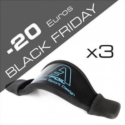 Black friday kitefoil alpinefoil carbon bag boardbag footstrap accessories x3 3006
