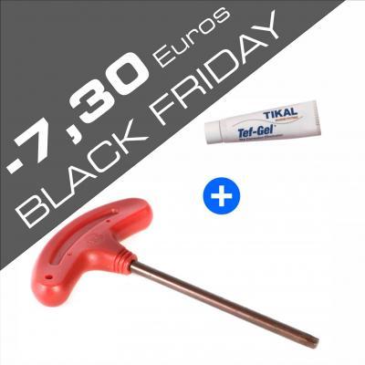 Black friday pack clef torx tef gel alpinefoil