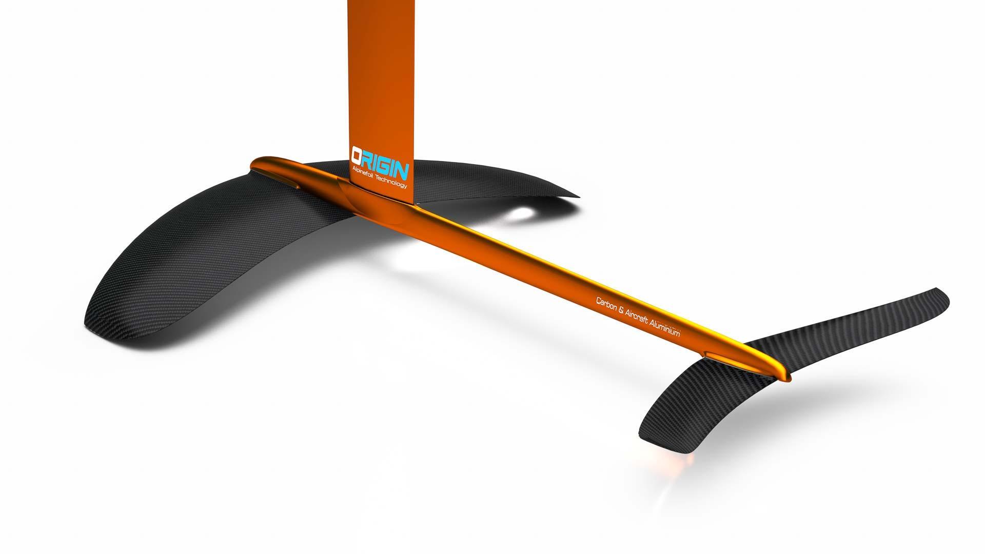 Kitefoil alpinefoil origin 23