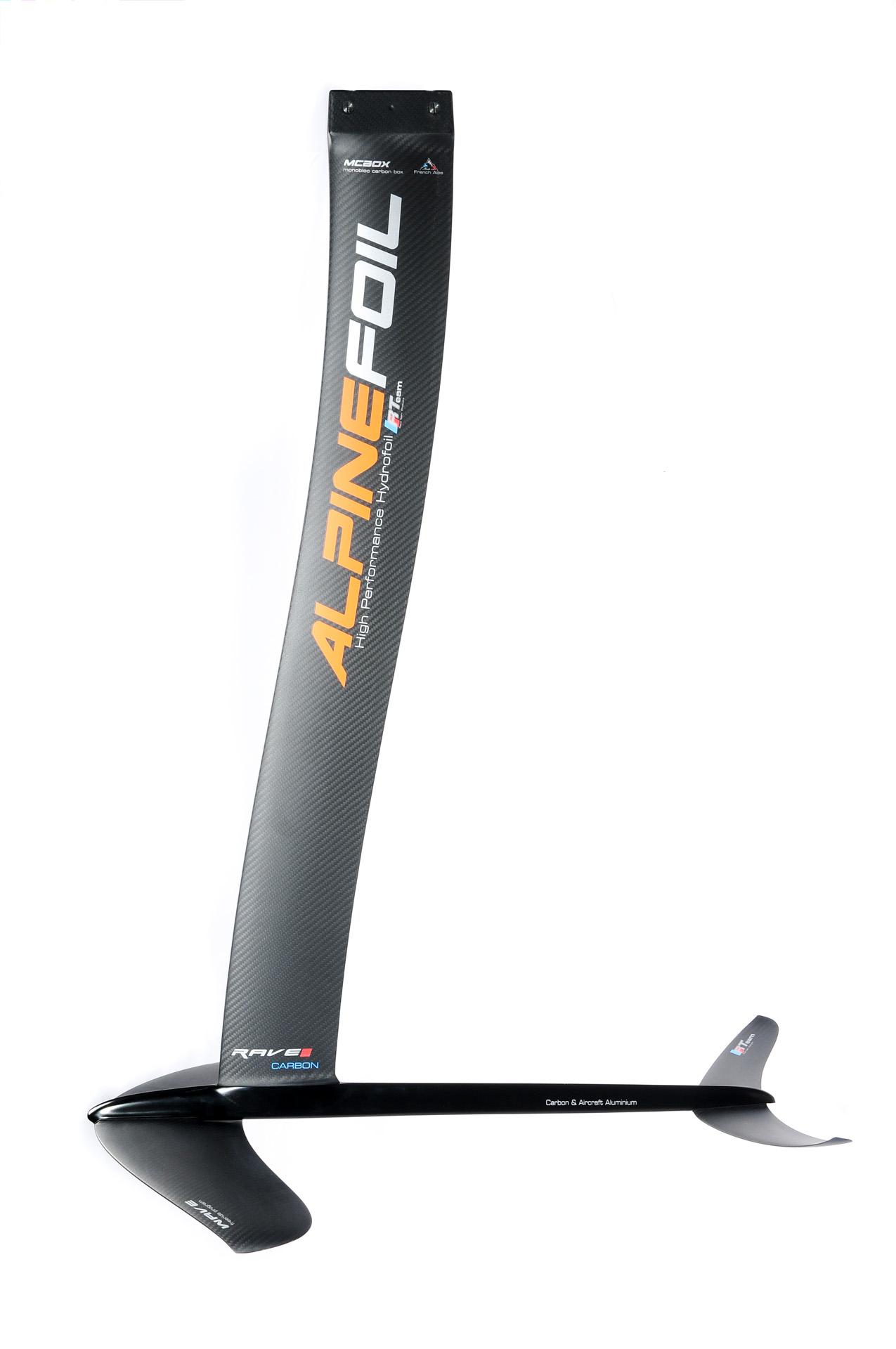 Kitefoil alpinefoil rave dch 0111