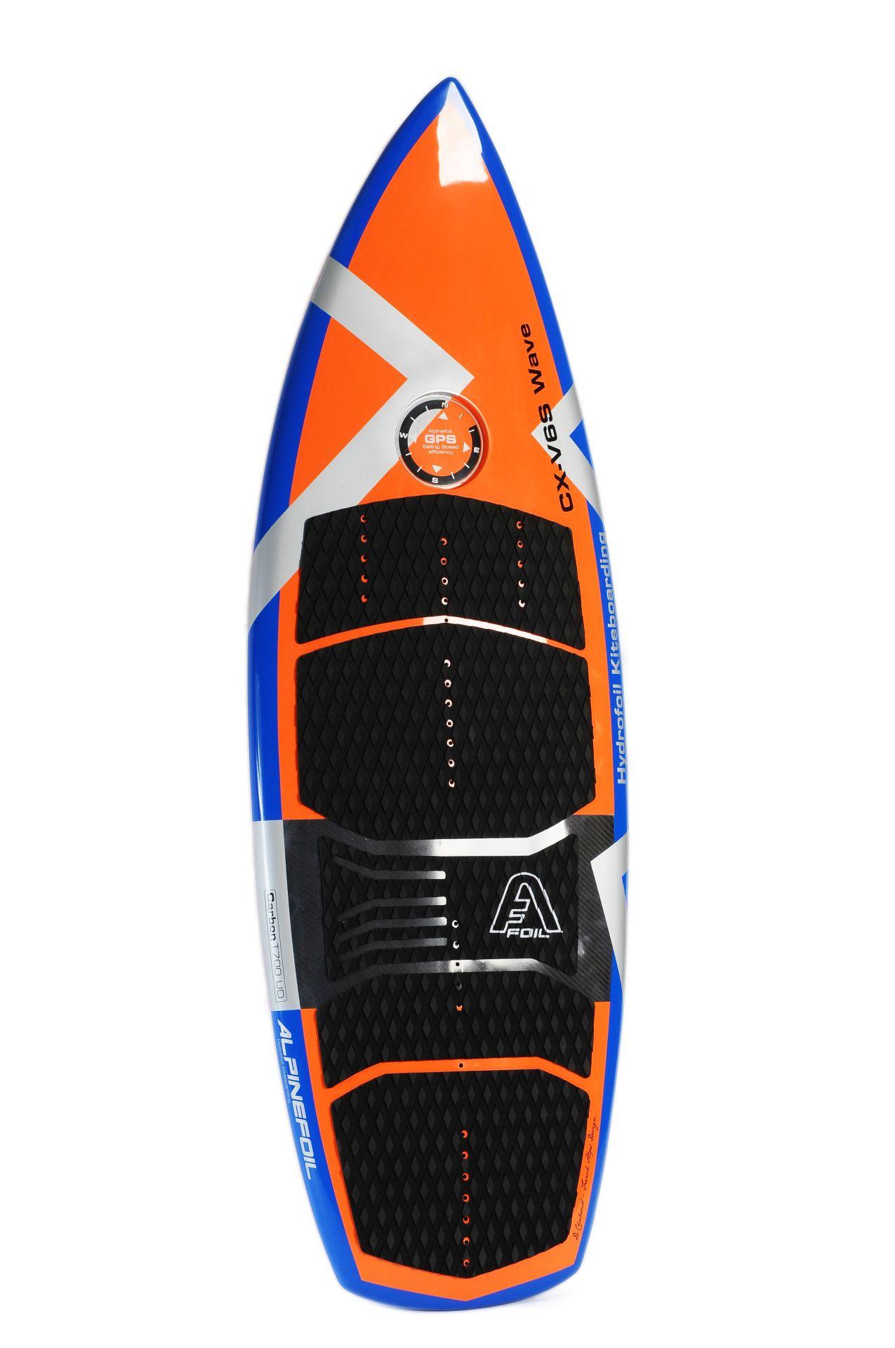 Kitefoil board alpinefoil cx v6 wave convertible 4243 1