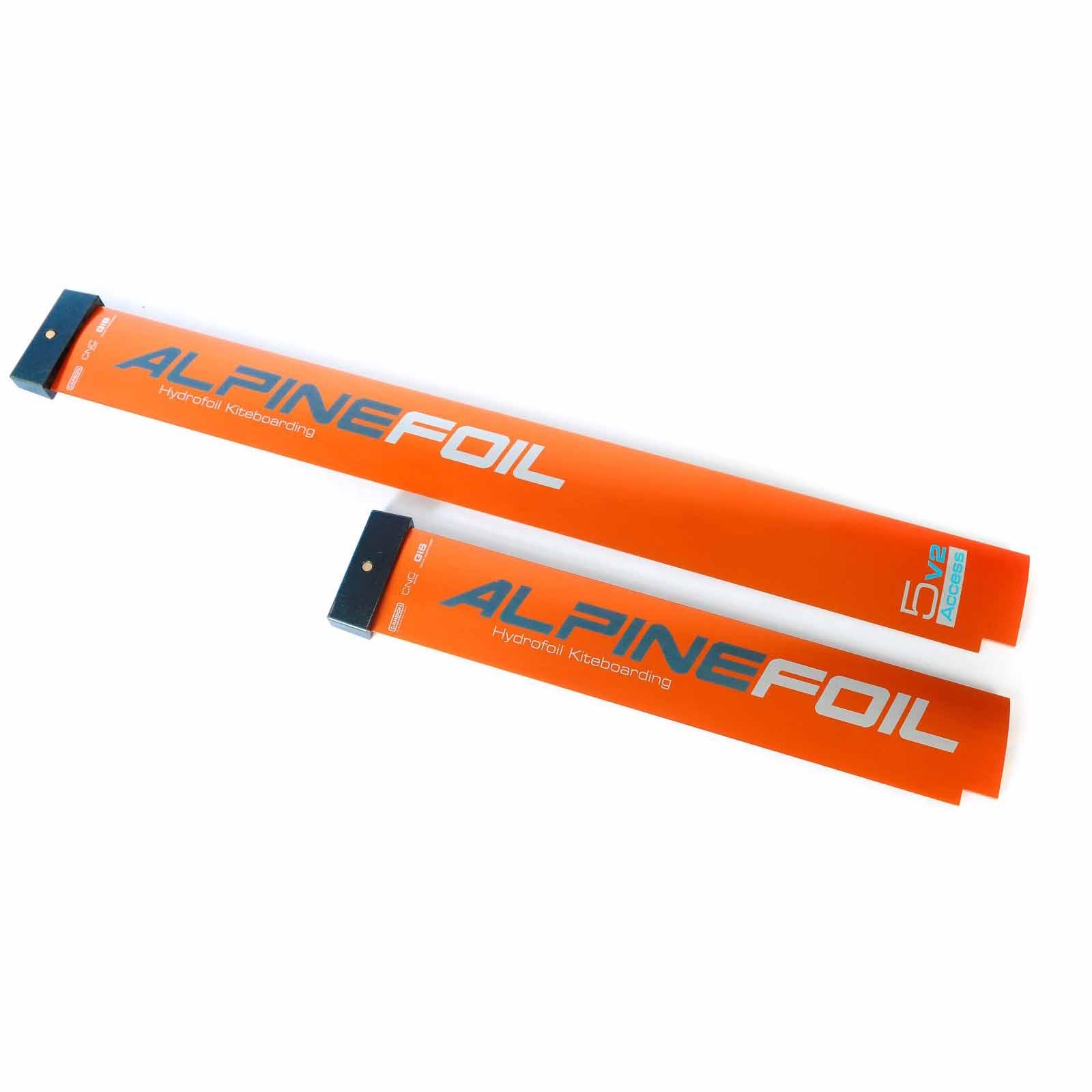 Kitefoil carbon aluminium alpinefoil 5