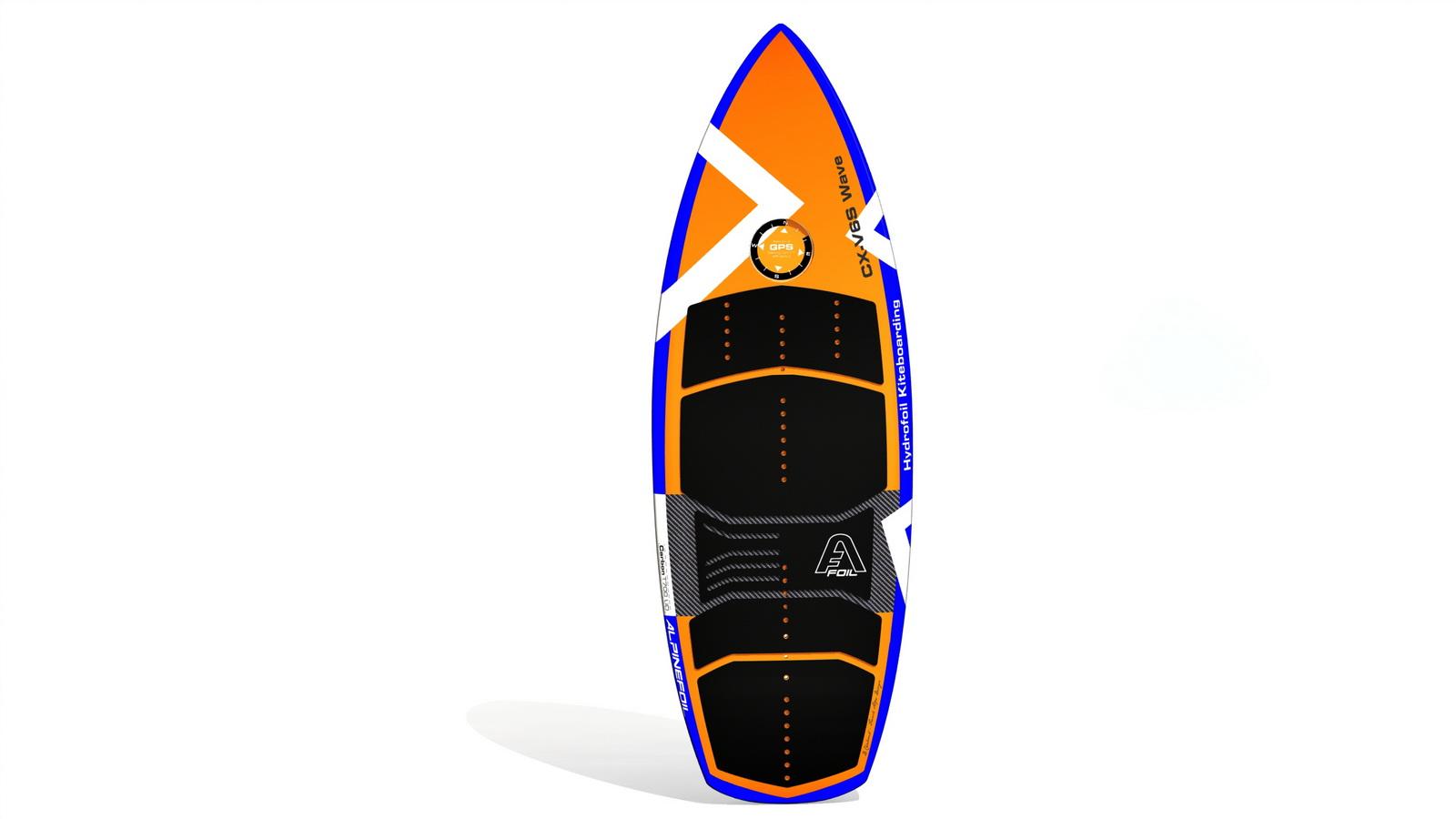 Kitefoil foilboard alpinefoil cx v6s wave 1