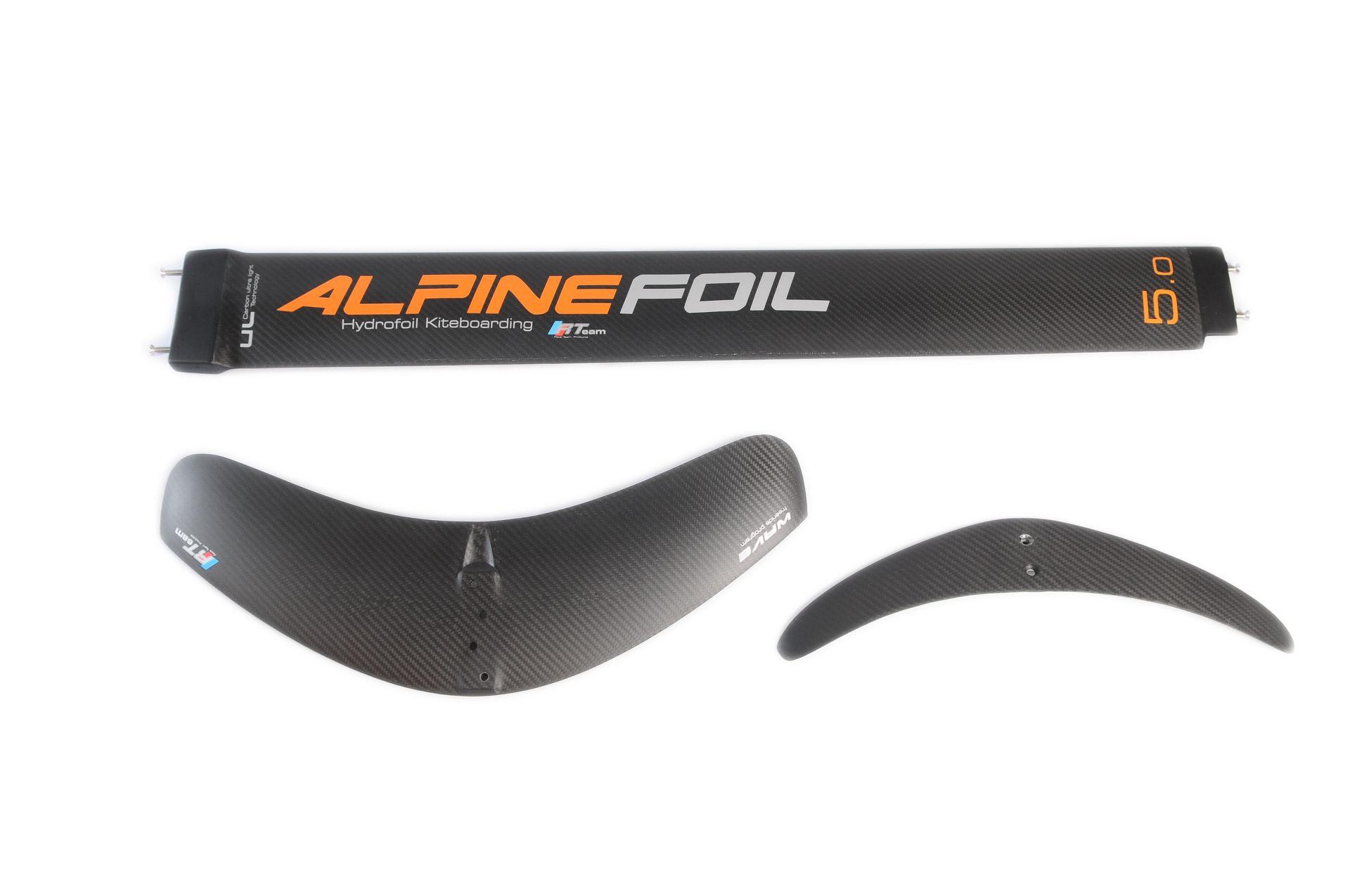 Kitefoil windfoil alpinefoil carbon mast wave stab 1
