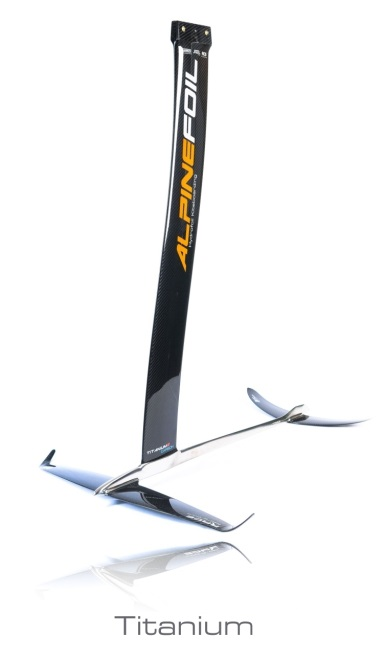 Titanium kitefoil alpinefoil 3