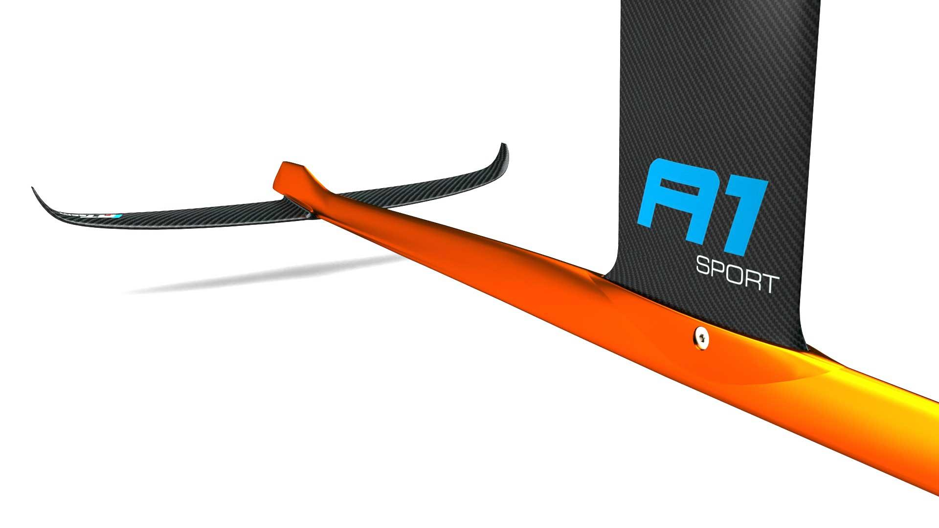 Windfoil alpinefoil a1 sport carbon regatta 1100 10