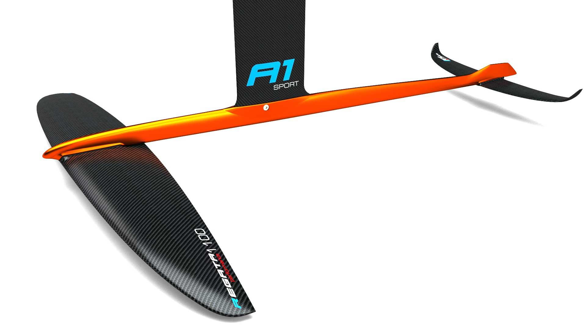 Windfoil alpinefoil a1 sport carbon regatta 1100 11